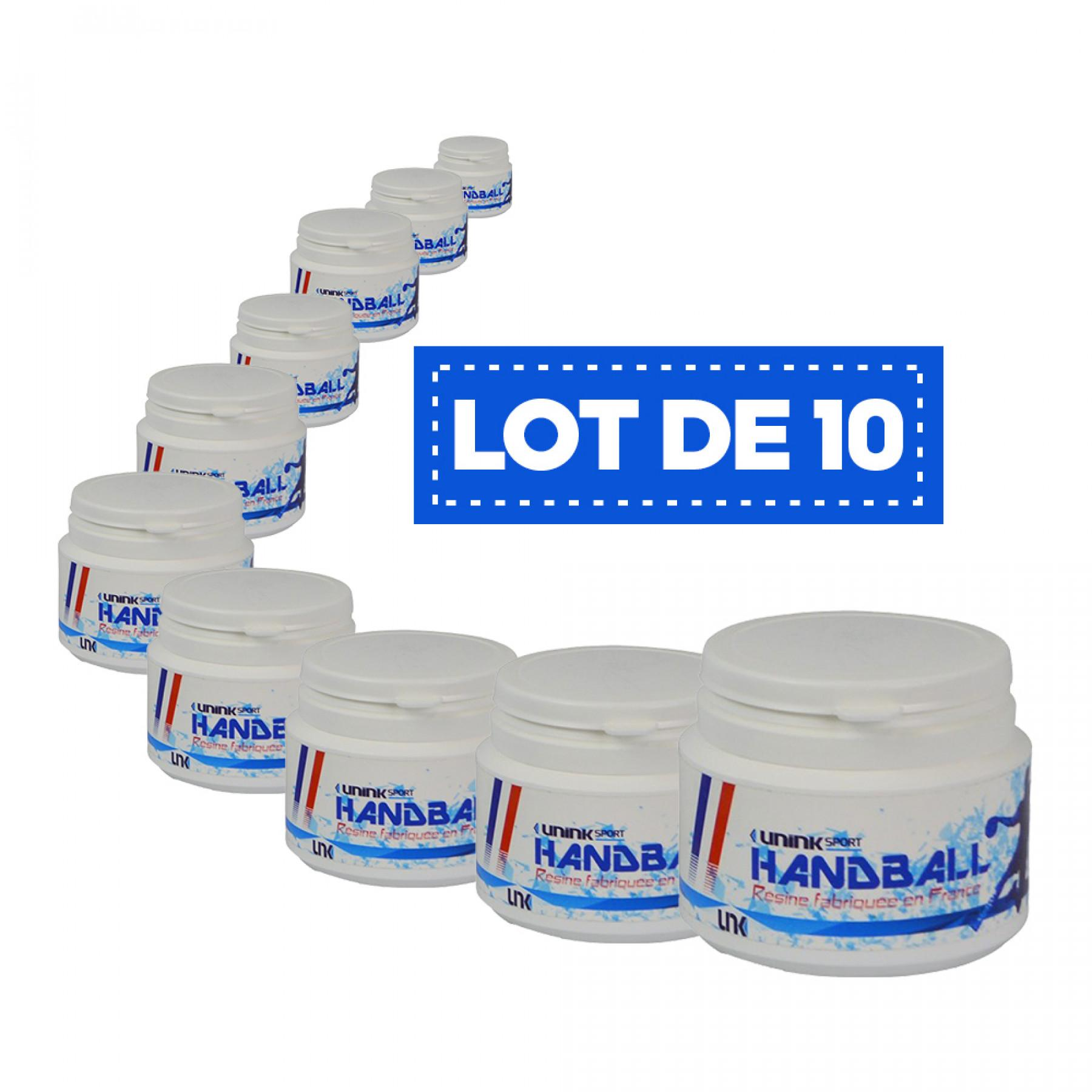 Lot de 10 Résines blanches haute performance Sporti France - 100 ml