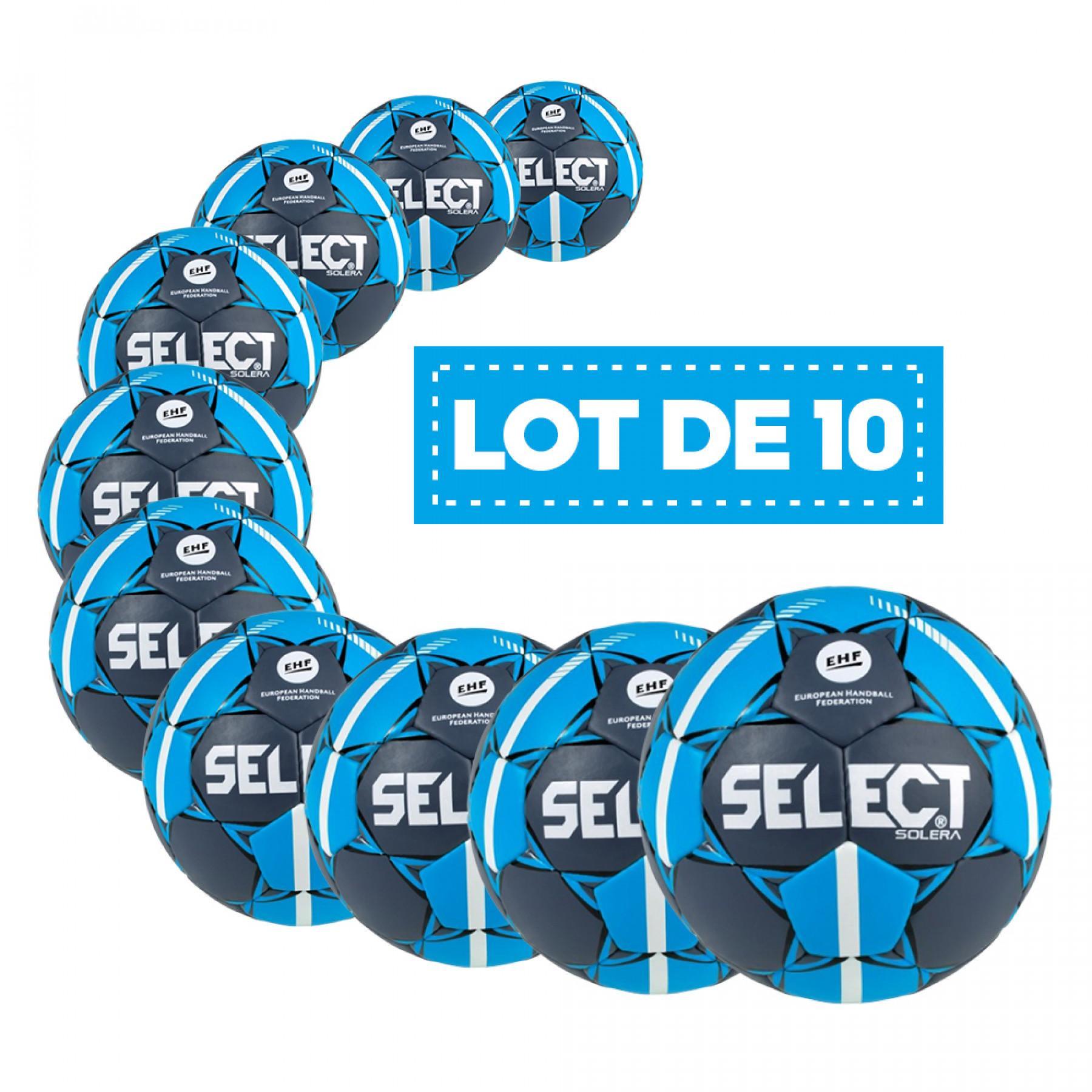 Lot de 10 Ballons Select HB Solera