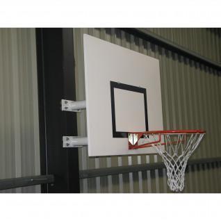 Panier de basket mural hauteur fixe demi lune Sporti France