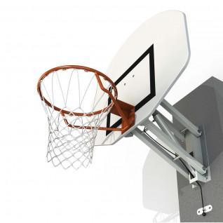 Panier de basket mural à hauteur réglable rectangulaire Sporti France