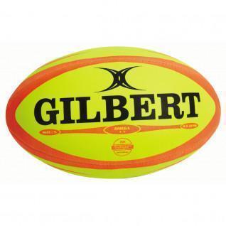 Ballon de rugby Gilbert Omega Fluo