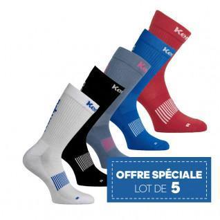 lot de 5 paires de chaussettes Kempa Logo Classic