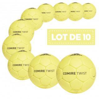 Lot de 10 ballons adidas Comire Twist