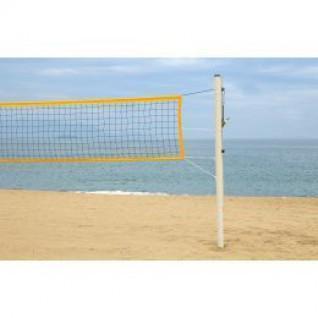 Poteaux de beach volley PRO - acier galvanisé 90mm Power Shot