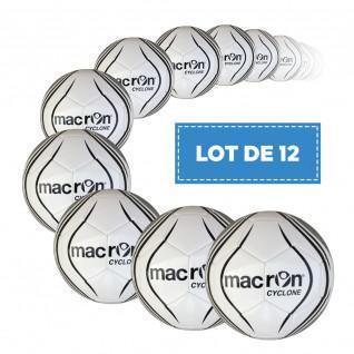 Lot de 12 Ballons Macron Cyclone