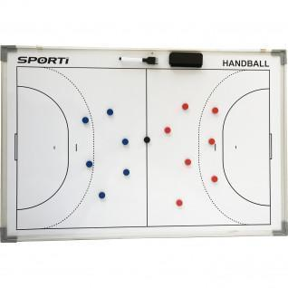 Petit tableau recto verso Handball 30x45cm