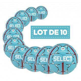 Lot de 10 Ballons Select HB Torneo Official EHF