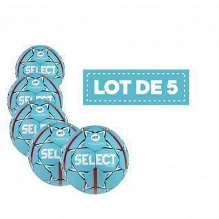 Lot de 5 Ballons Select HB Torneo Official EHF