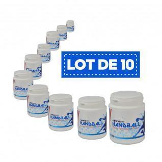 Lot de 10 Résines blanches haute performance Sporti France - 200 ml