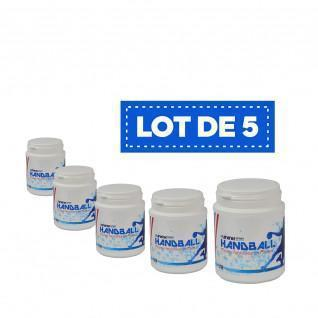 Lot de 5 Résines blanches haute performance Sporti France - 200 ml