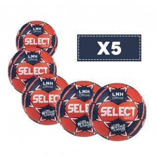 Lot de 5 Ballons Select Ultimate LNH Replica 2020/2021