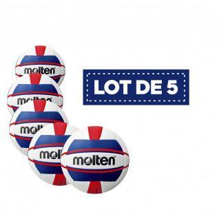 Lot de 5 Ballons femme Beach-volley V5B1500
