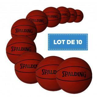 Lot de 10 Mini Ballons Spalding
