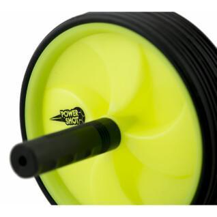 Ab wheel / rouleau de travail des abdominaux Power Shot