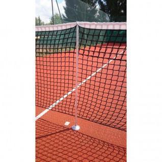 Poteaux de tennis de soutien pour jeu de simple Carrington